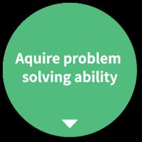 問題解決能力 を養う。